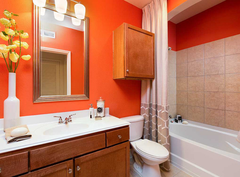 Bathroom at Amli 2121 Apartments
