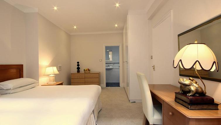 Scenic bedroom in Hertfords Mayfair Serviced Apartments