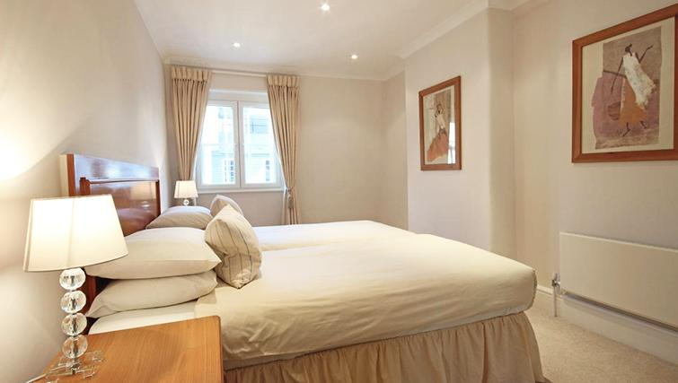 Comfortable bedroom in Hertfords Mayfair Serviced Apartments