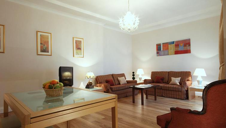 Sophisticated living area in Hertfords Mayfair Serviced Apartments