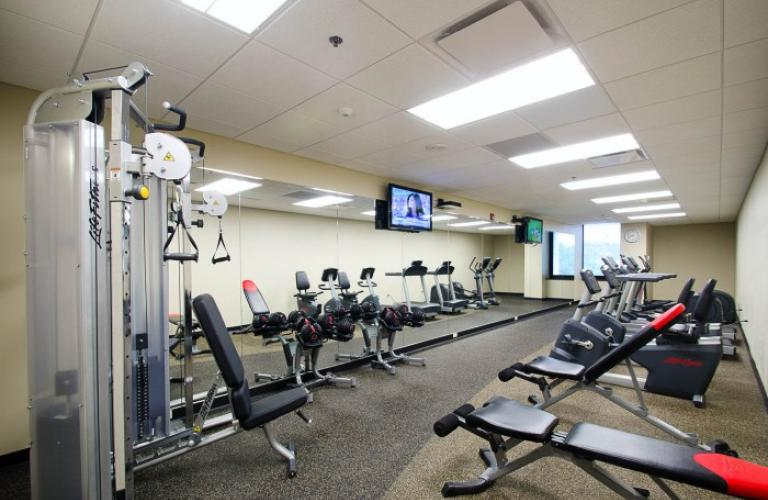 Fitness Centre at River Vue Apartment