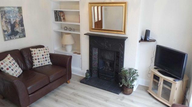 Living room at Heathside House