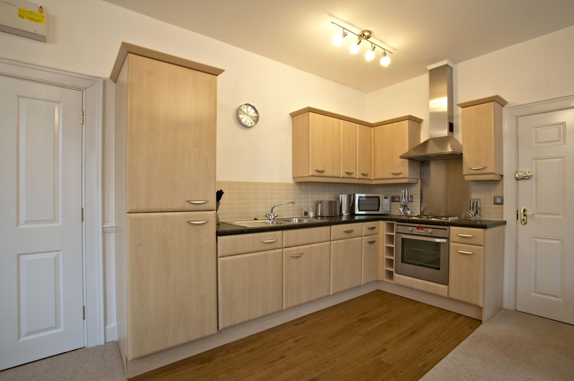 Kitchen at Villetts House Apartment, Centre, Swindon