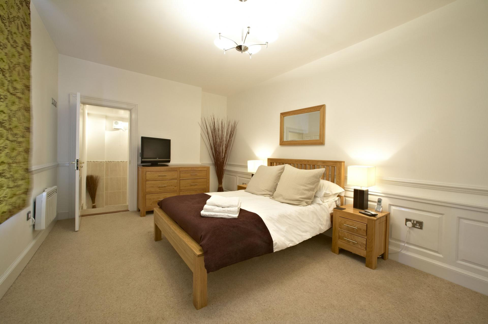 Bedroom at Villetts House Apartment, Centre, Swindon