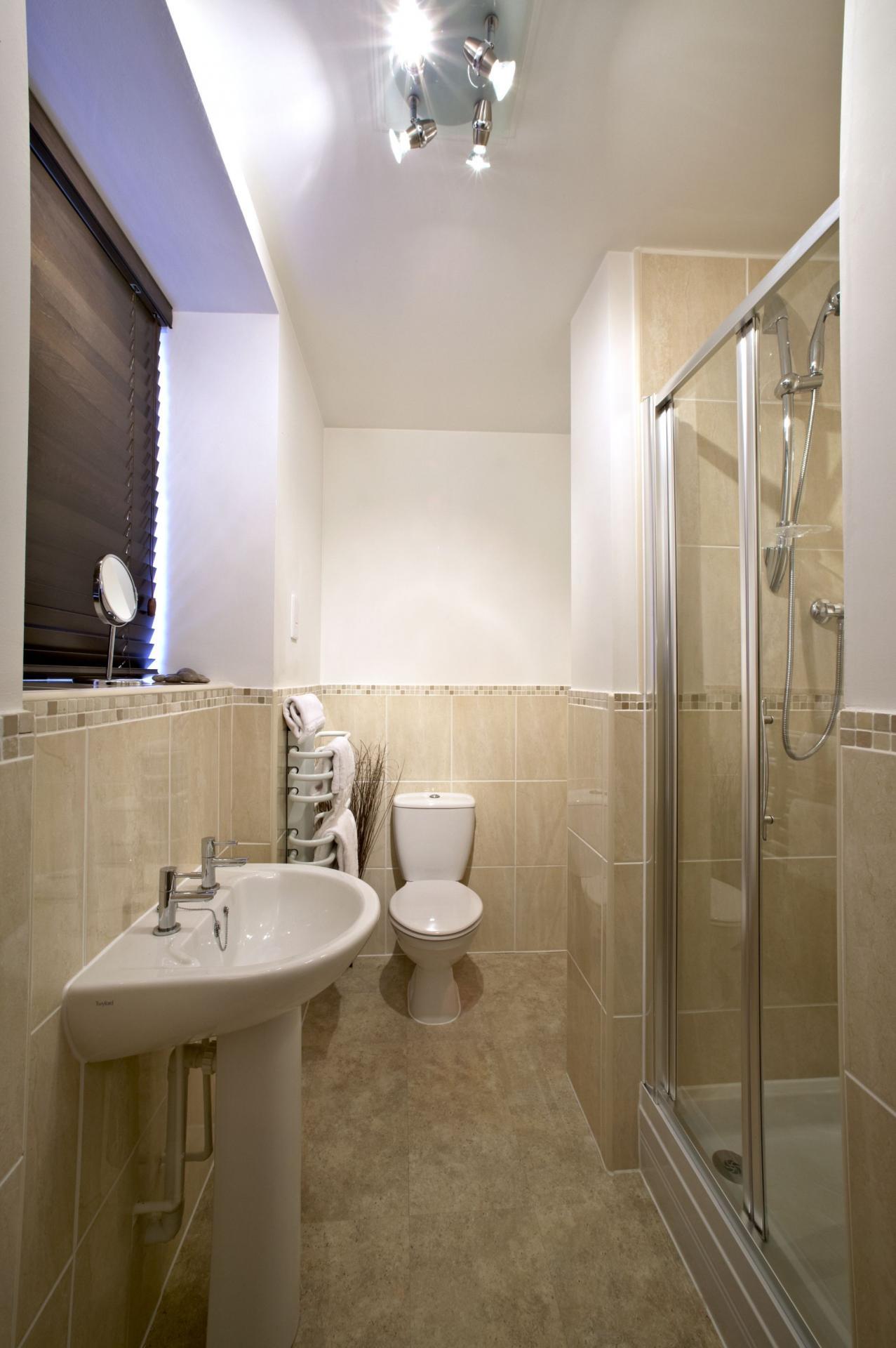 Bathroom at Villetts House Apartment, Centre, Swindon