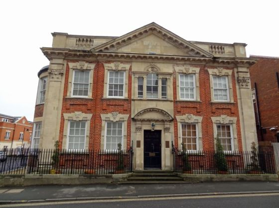 Building Exterior at Villetts House Apartment, Centre, Swindon