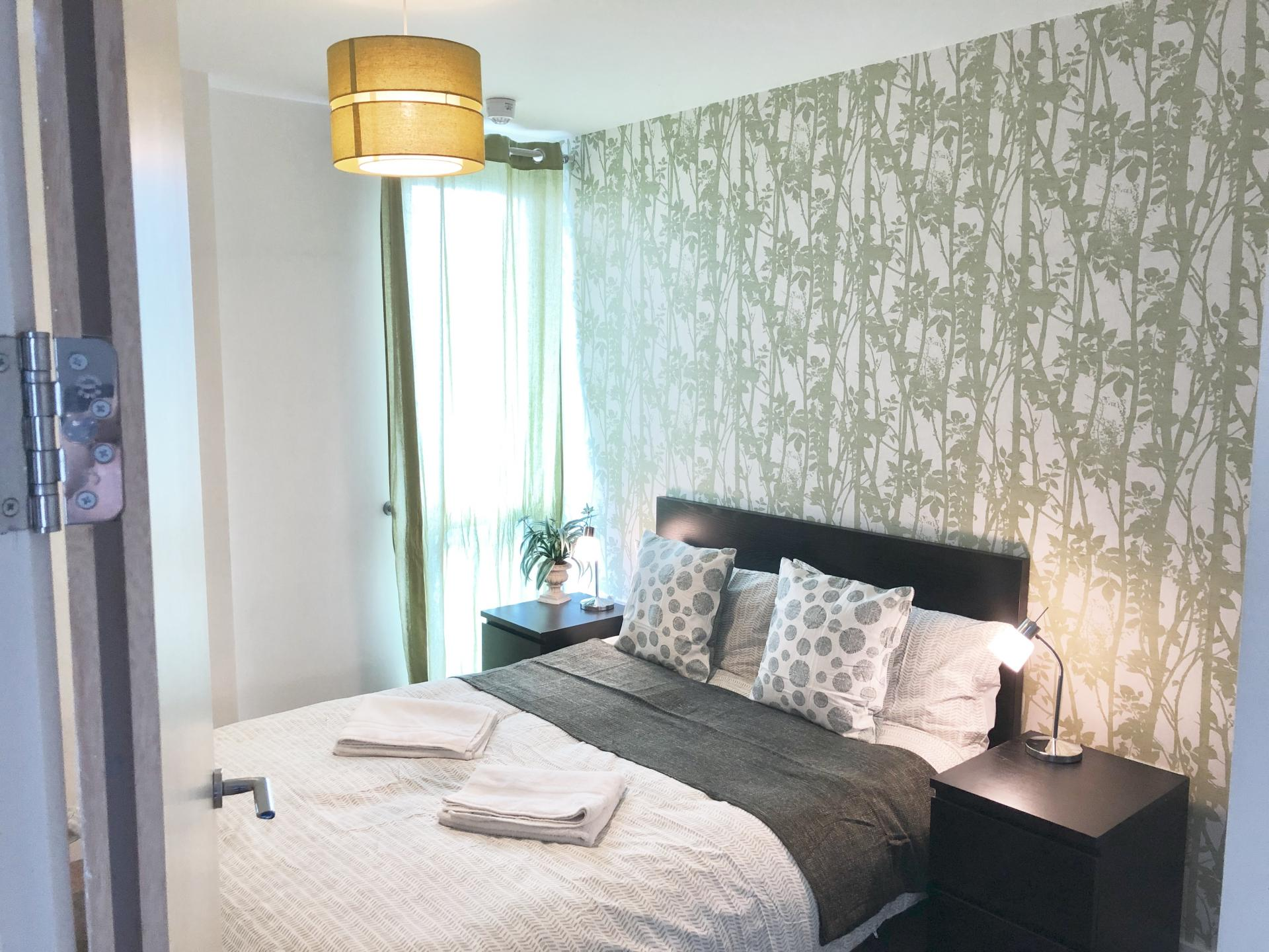 Bedroom at The Hub Serviced Apartments