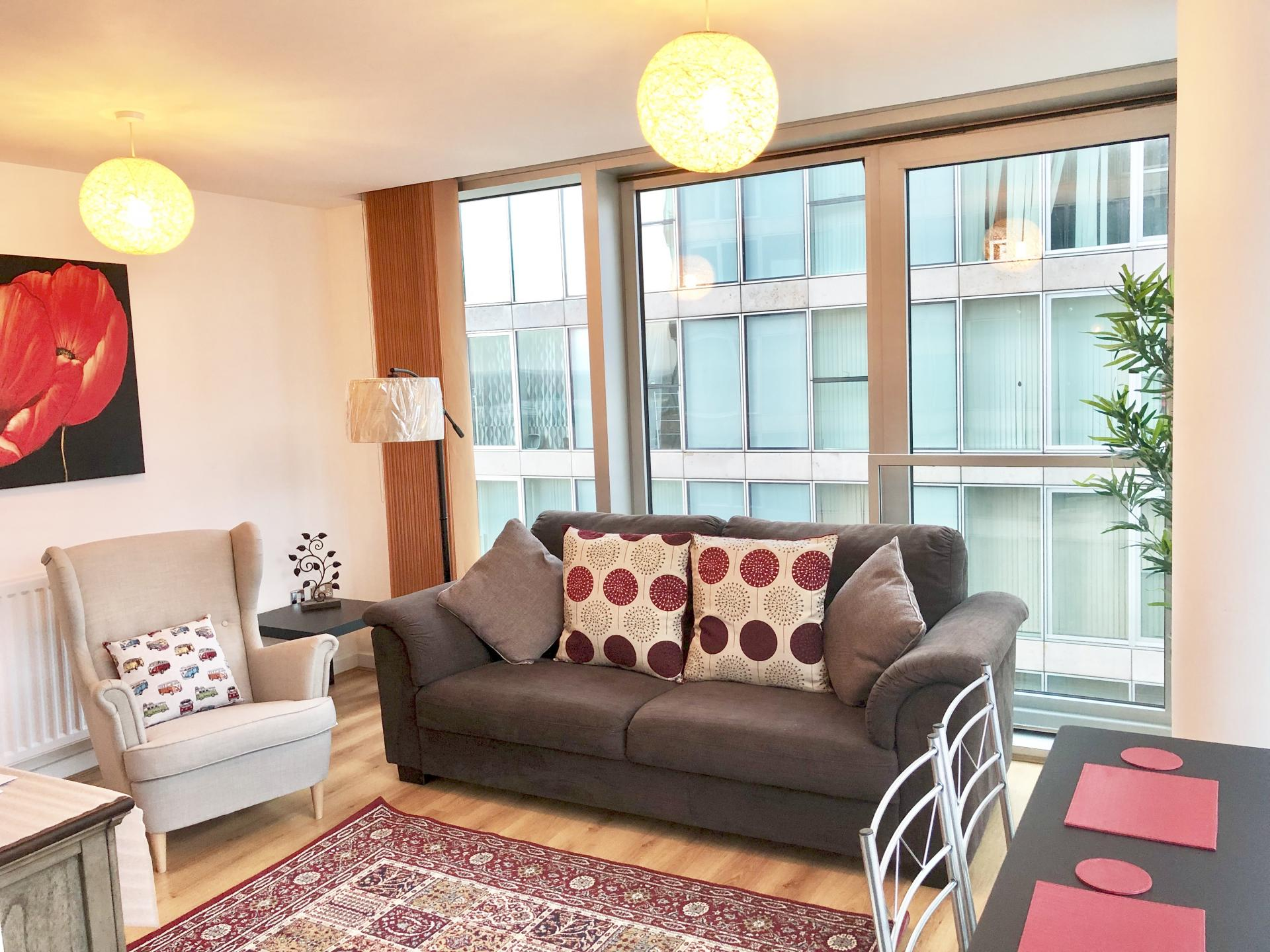 Chair at The Hub Serviced Apartments