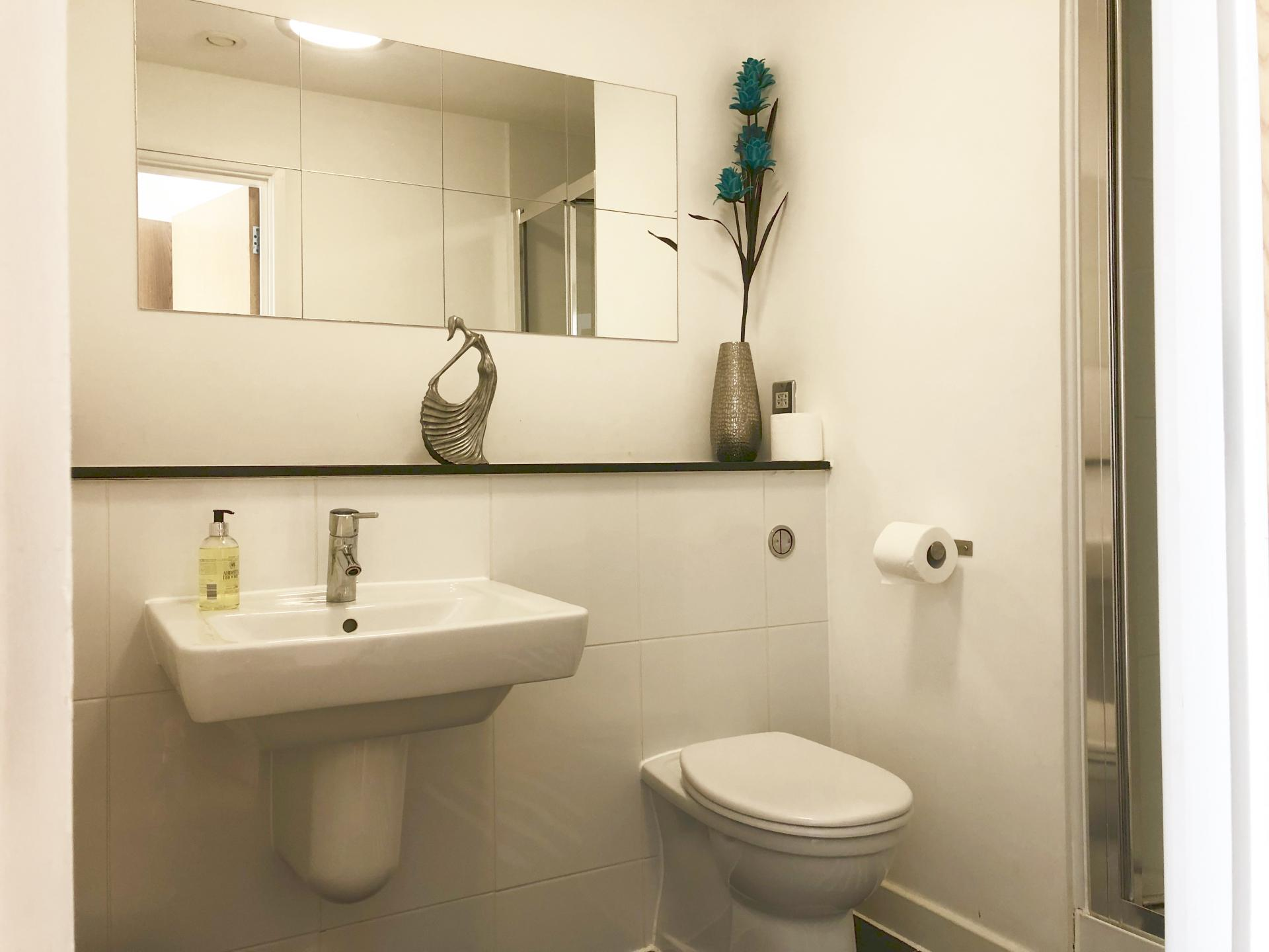 Sink at The Hub Serviced Apartments