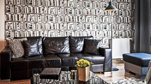 Living room at Czarny Dwor Apartment