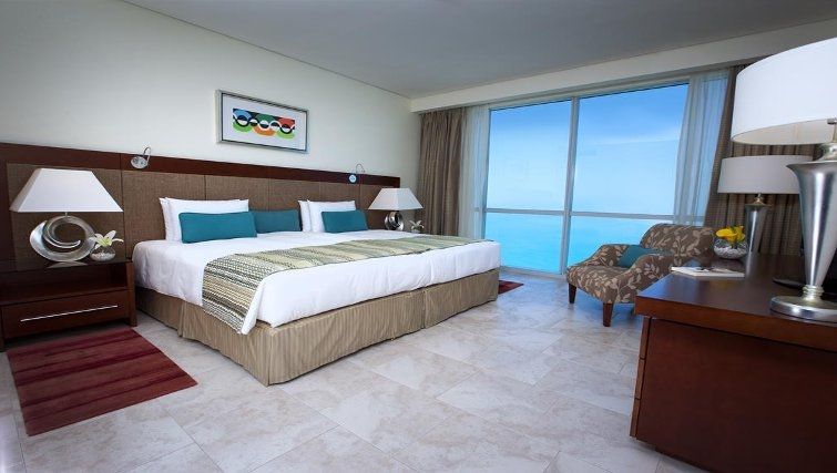 Outstanding bedroom in JA Oasis Beach Tower