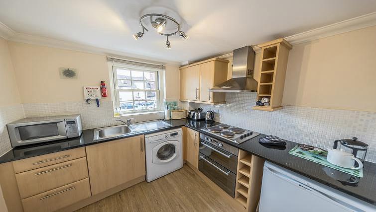Kitchen at Pigg Lane Apartments
