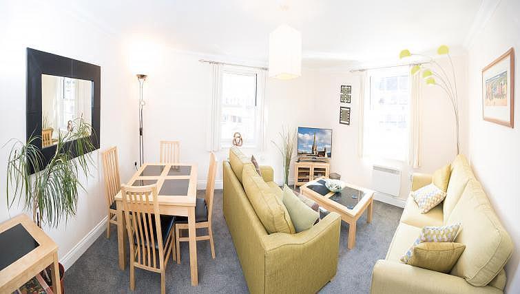 Living space at Pigg Lane Apartments