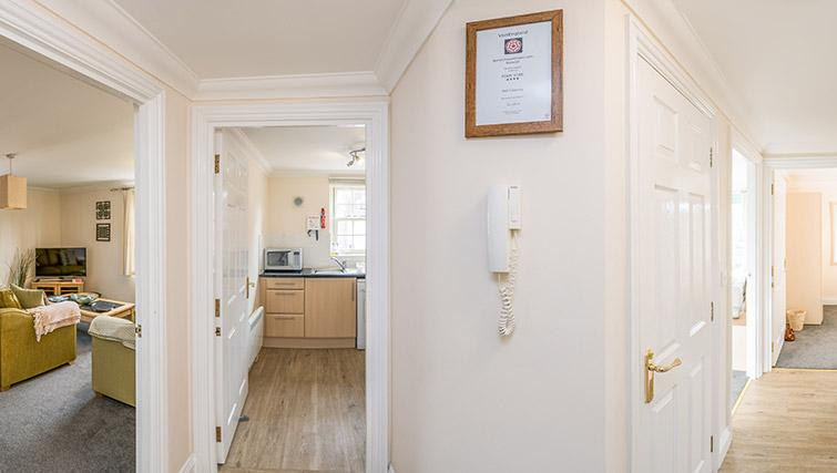 Hallway at Pigg Lane Apartments