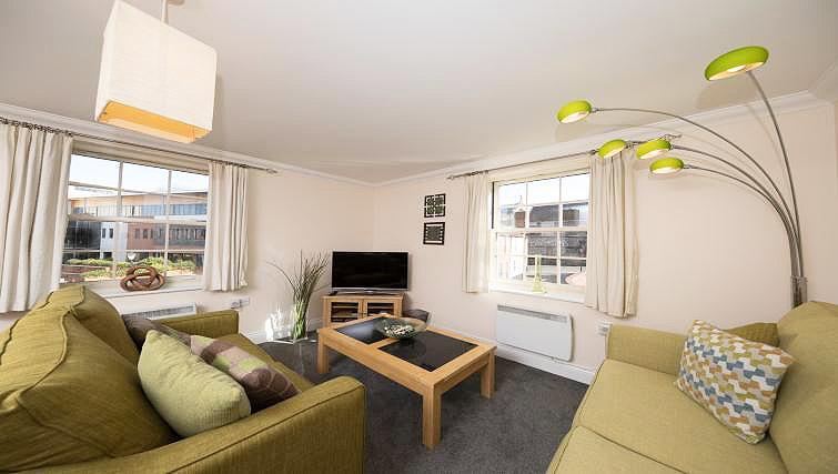 Living area at Pigg Lane Apartments