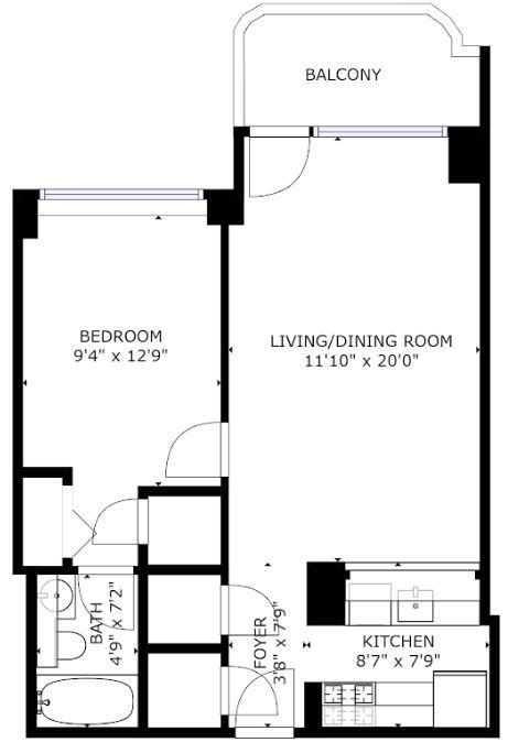 Symphony House Serviced Apartments, Manhattan, New York