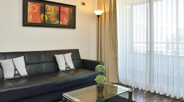 Living room at Condes View Apartment
