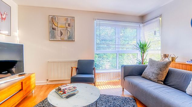 Living room at Broompark Apartment