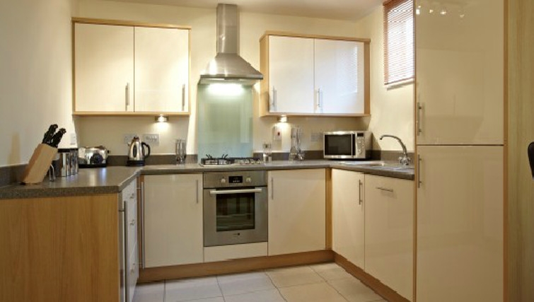 Large kitchen in Ibex House