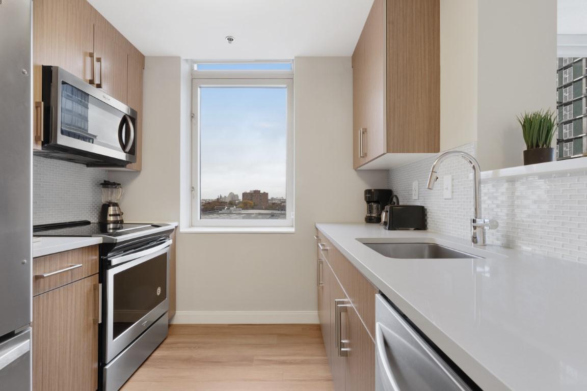 Window at Marbella Washington Boulevard Apartments, Centre, Jersey City