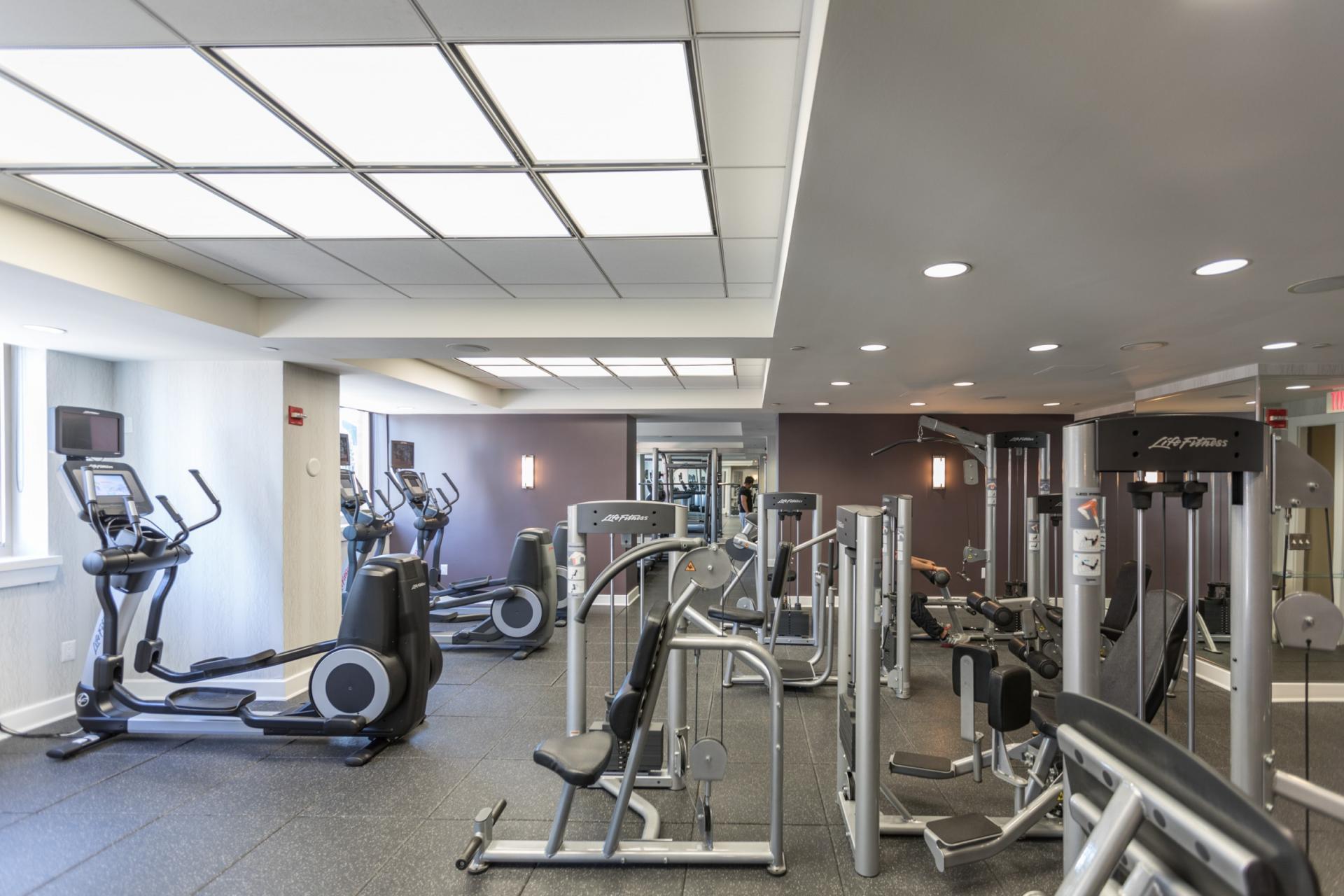 Gym at Marbella Washington Boulevard Apartments, Centre, Jersey City