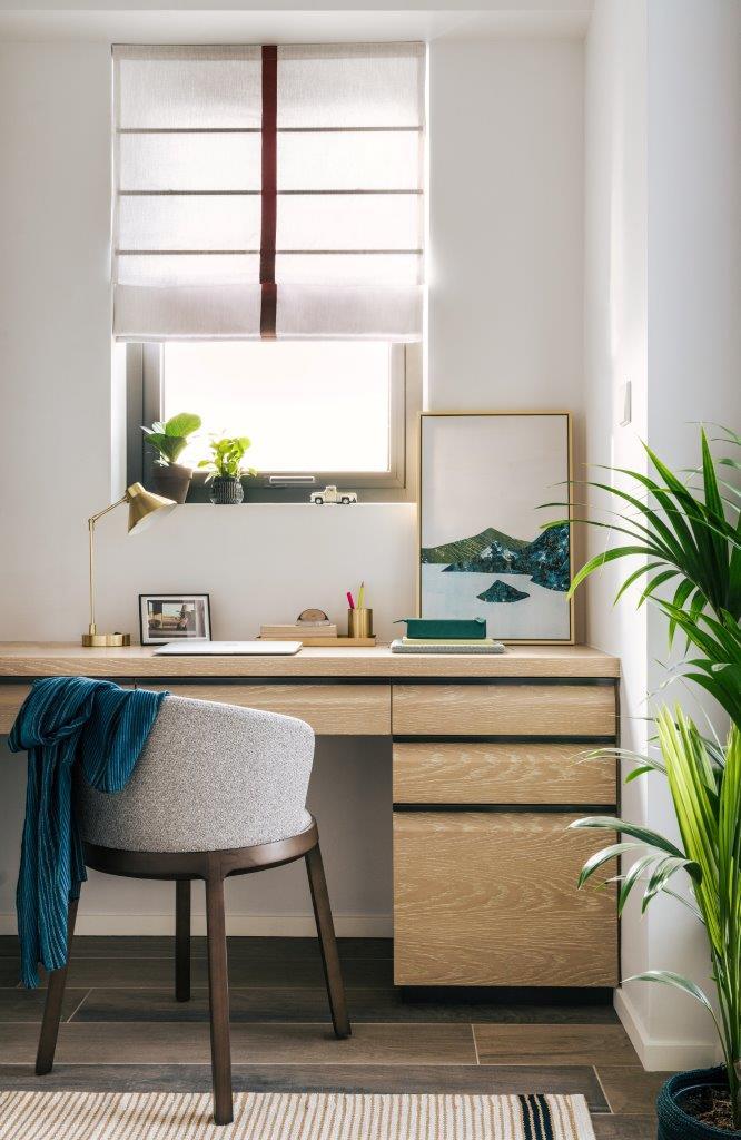 Desk at Waterfront Suites Apartments