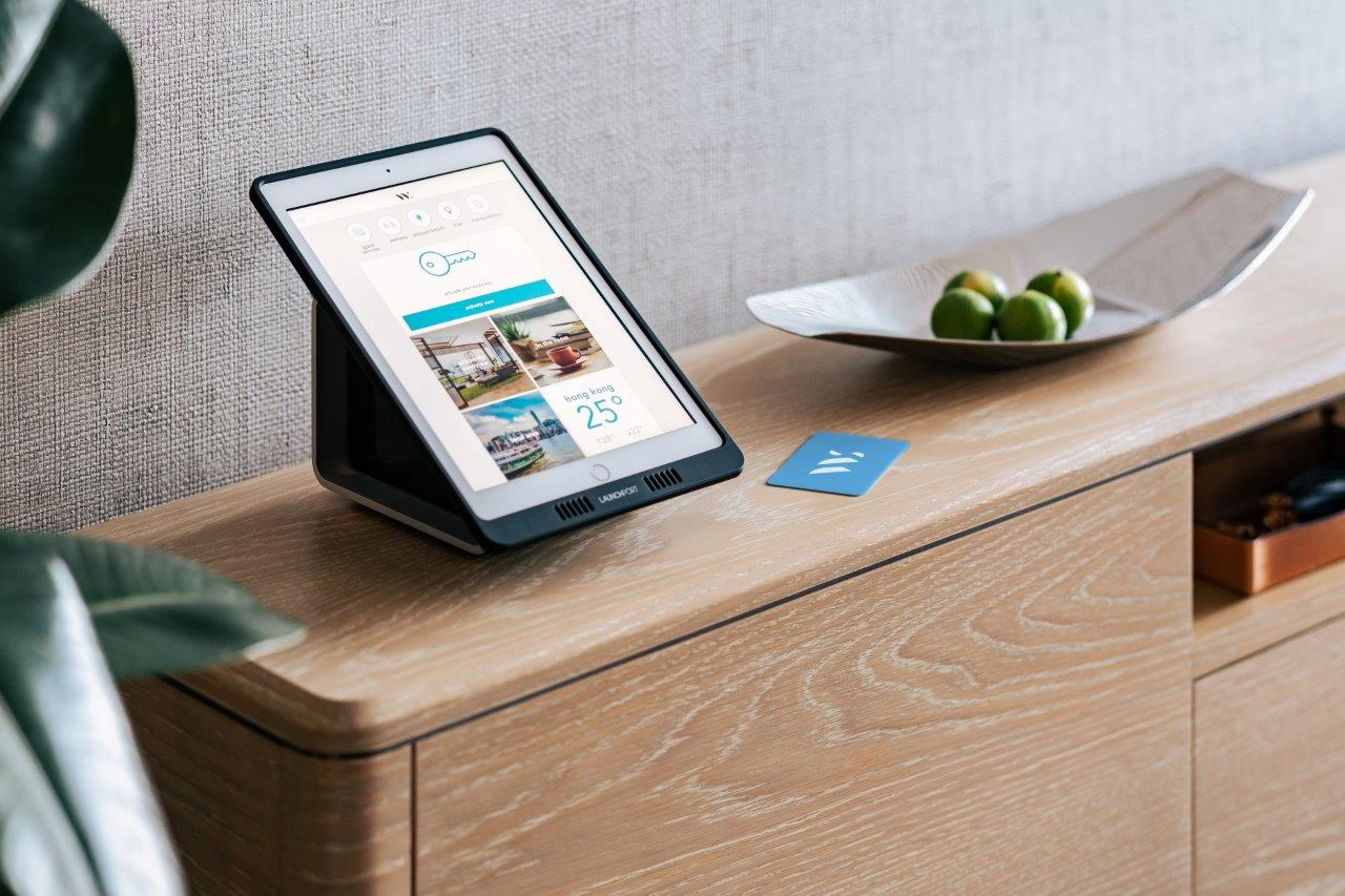 Ipad at Waterfront Suites Apartments