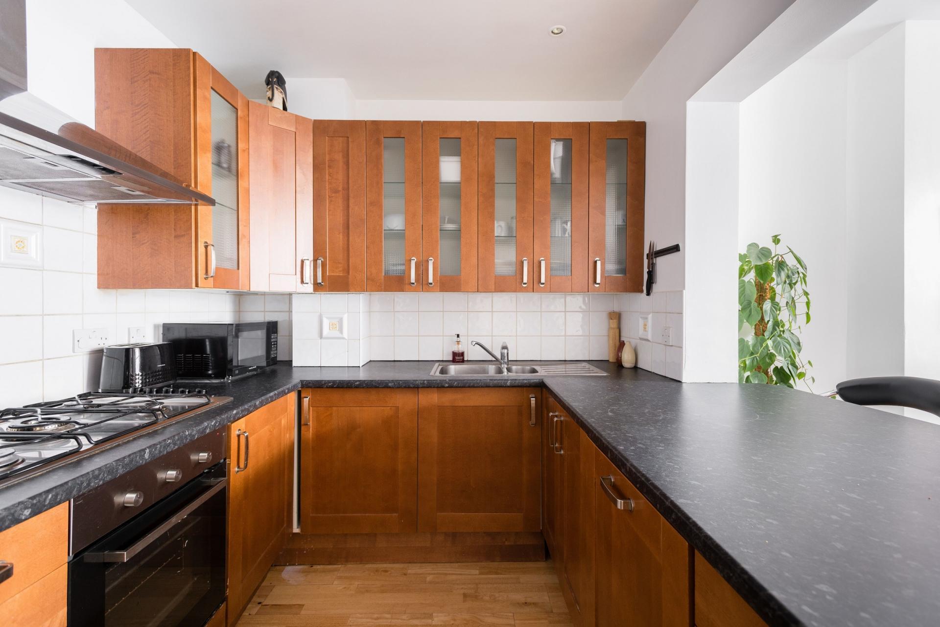 Kitchen at The Bayswater Gardens House, Bayswater, London