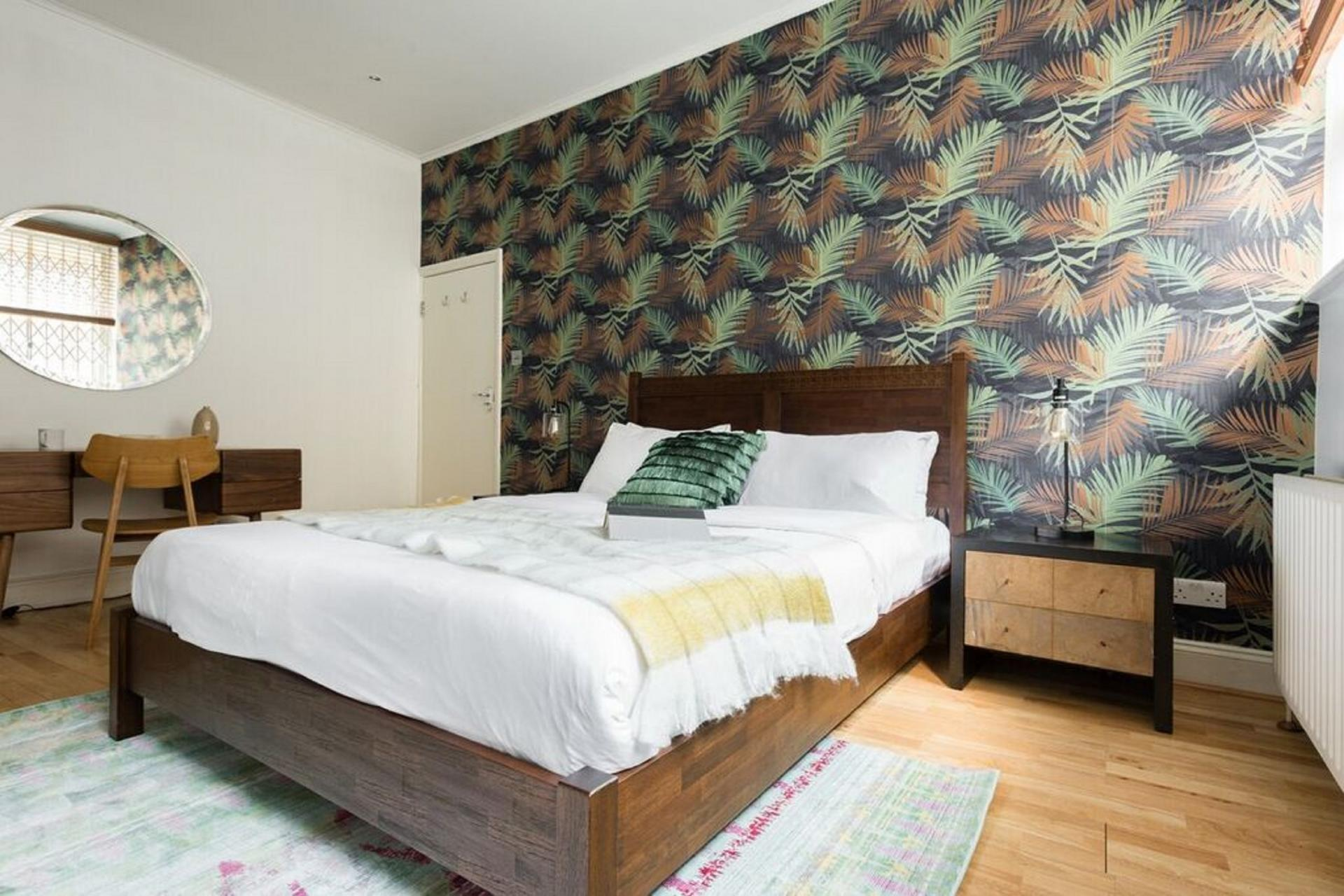 Bedroom at The Bayswater Gardens House, Bayswater, London
