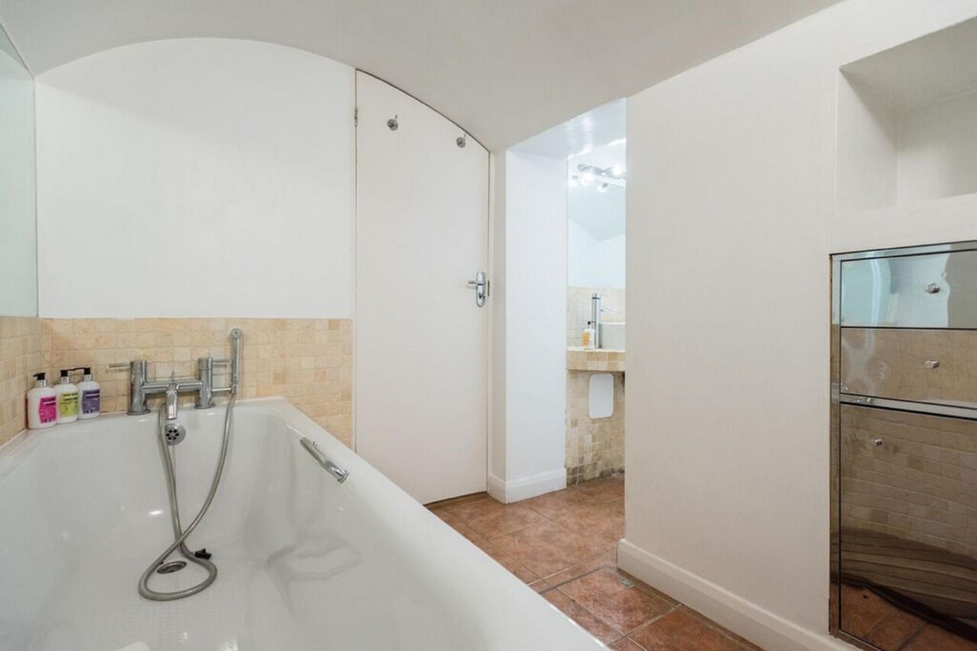 Bath at The Bayswater Gardens House, Bayswater, London