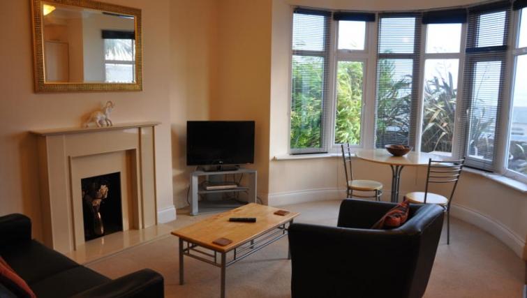 modern living room in Eastern Esplanade Apartments