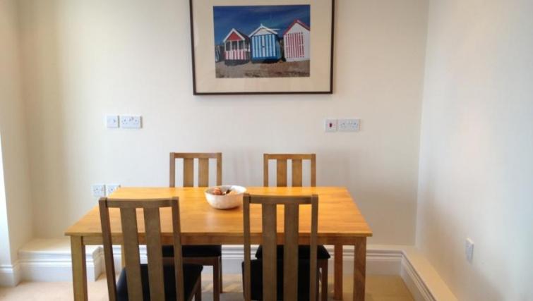 Simplistic dining room in Eastern Esplanade Apartments