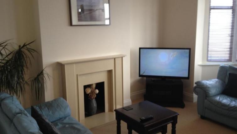 Comfortable living area in Eastern Esplanade Apartments