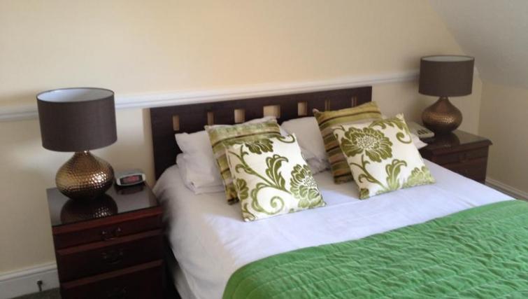 Stylish bedroom in Eastern Esplanade Apartments