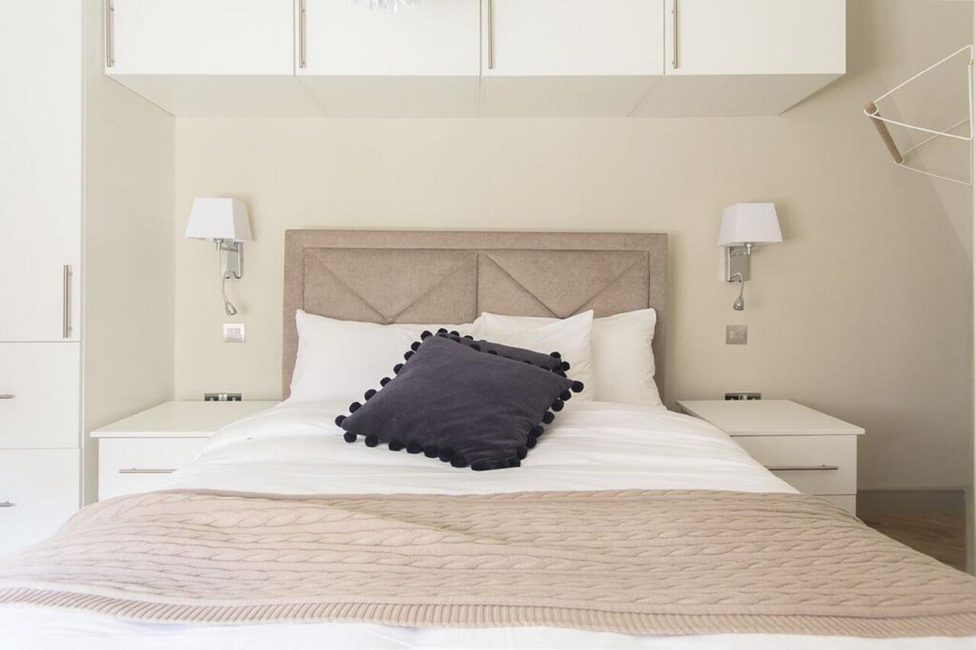 Bed at The Soho Loft, Mayfair, London