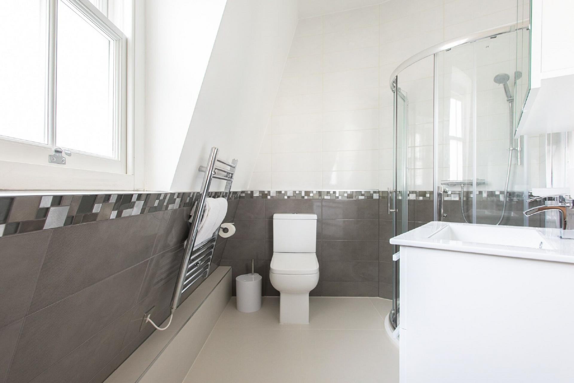 Bathroom at The Soho Loft, Mayfair, London