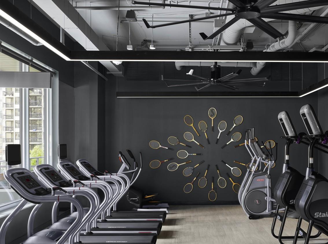 Gym at Arrivé Apartment