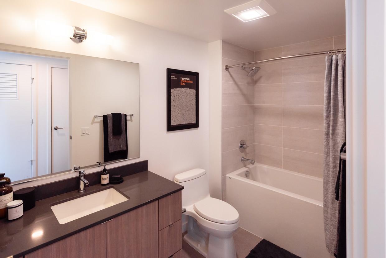 Bathroom at Arrivé Apartment