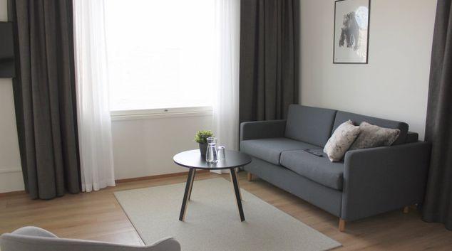 Living area at Valtakatu Apartments, Centre, Rovaniemi