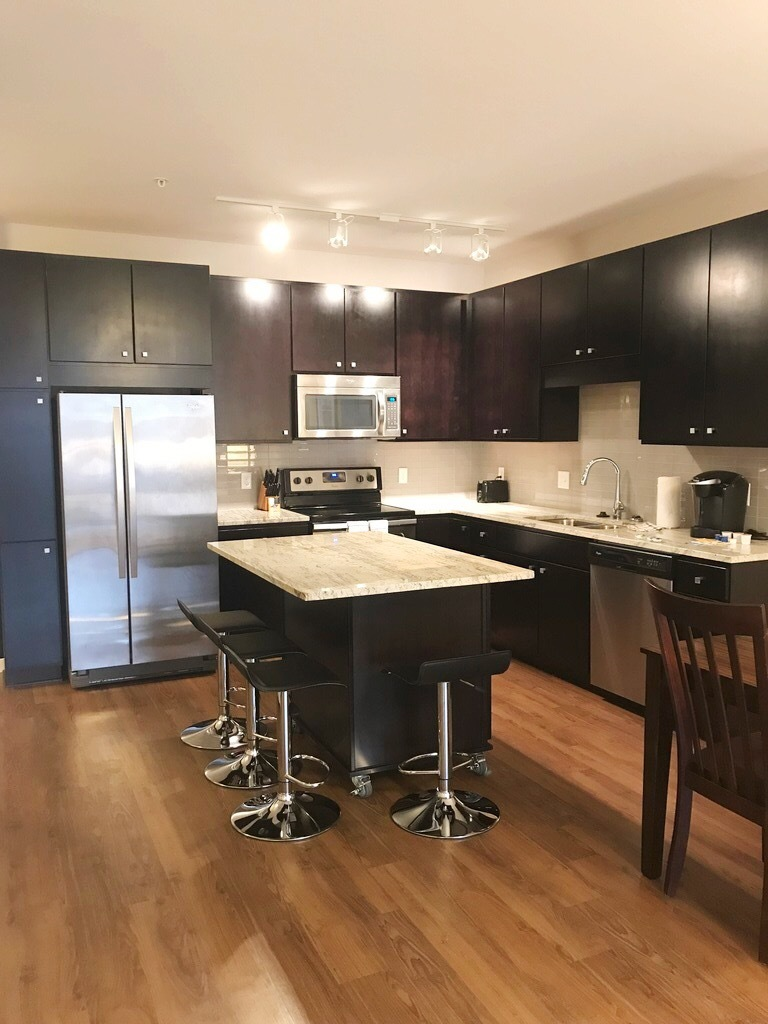 Kitchen at The Edition Apartments
