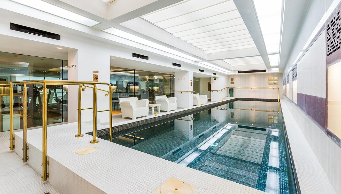 Pool at Town Hall Apartments