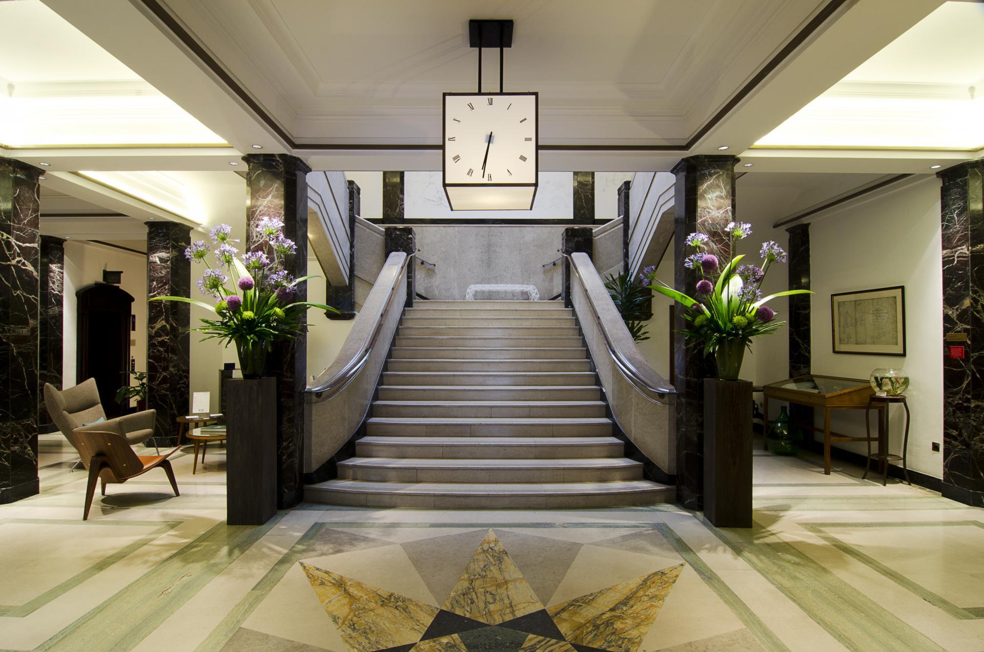 Lobby at Town Hall Apartments