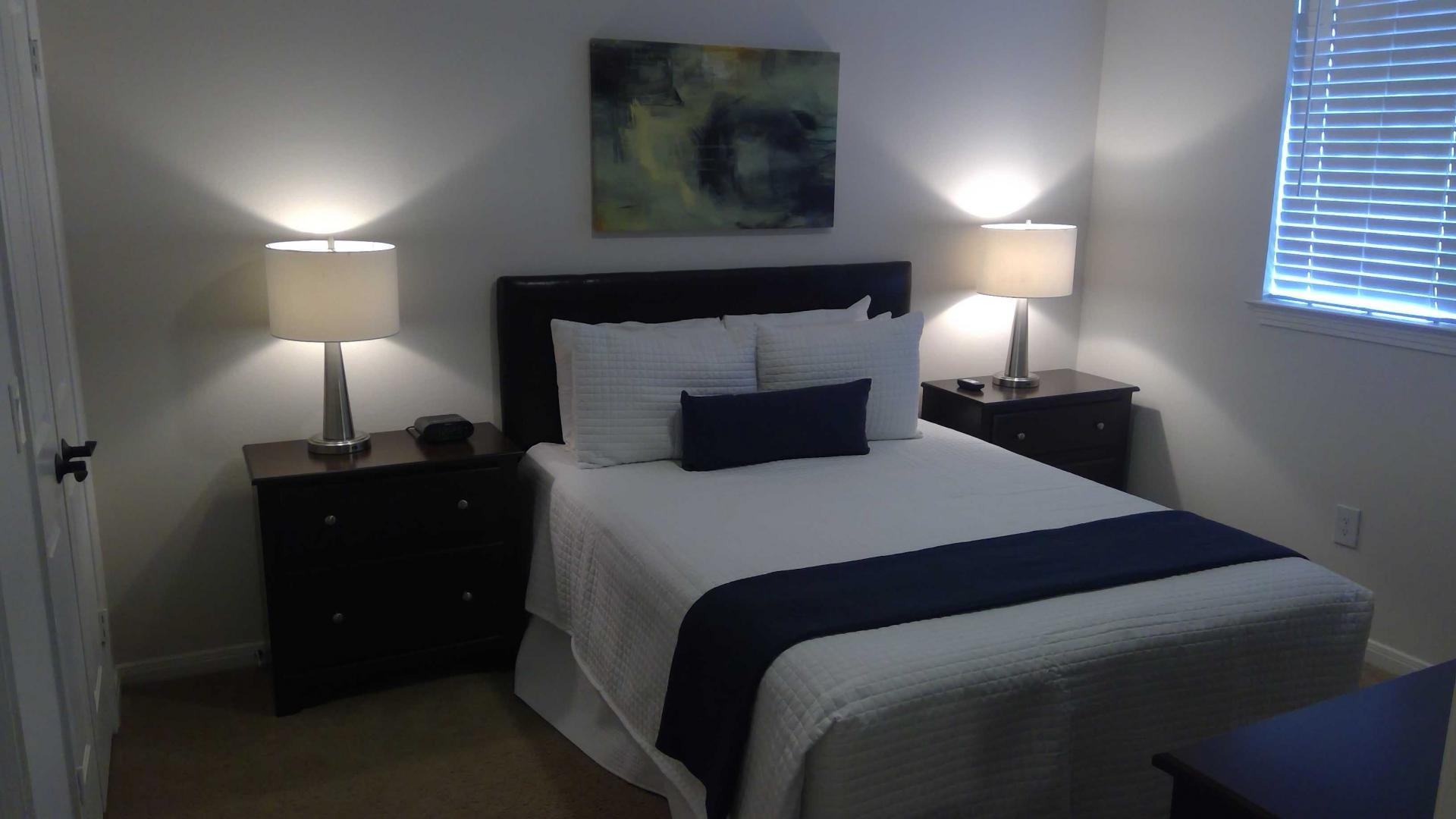 Bedroom at Rock Creek Apartments
