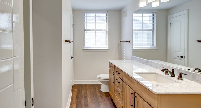Bathroom at Rock Creek Apartments