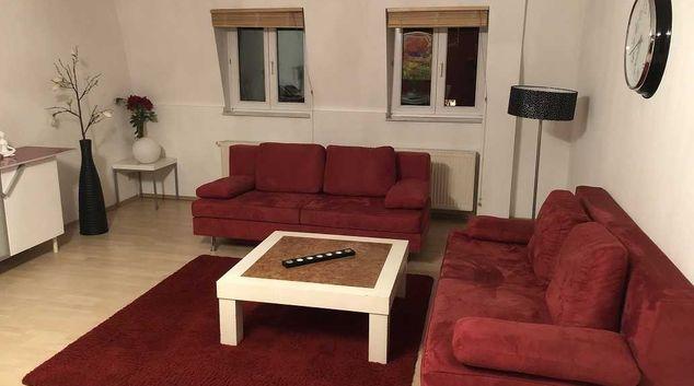 Living room at Rothenburger Apartments