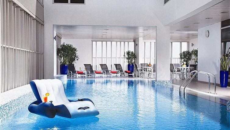Striking pool in Hala Arjaan Apartments