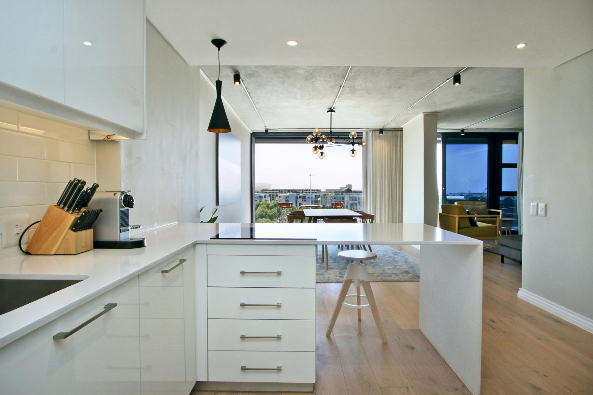Worktop at Docklands Cape Town Apartments, Green Point, Cape Town