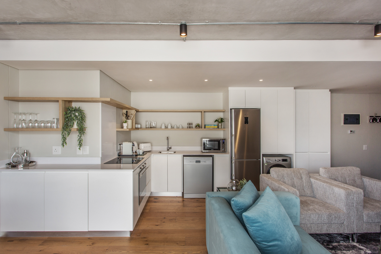 Open-plan at Docklands Cape Town Apartments, Green Point, Cape Town