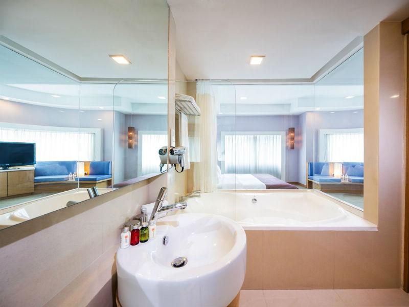 Sink at Village Hotel Changi, Loyang, Singapore