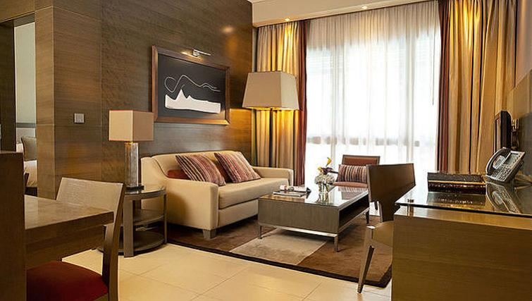 Smart living area in Park Arjaan Apartments